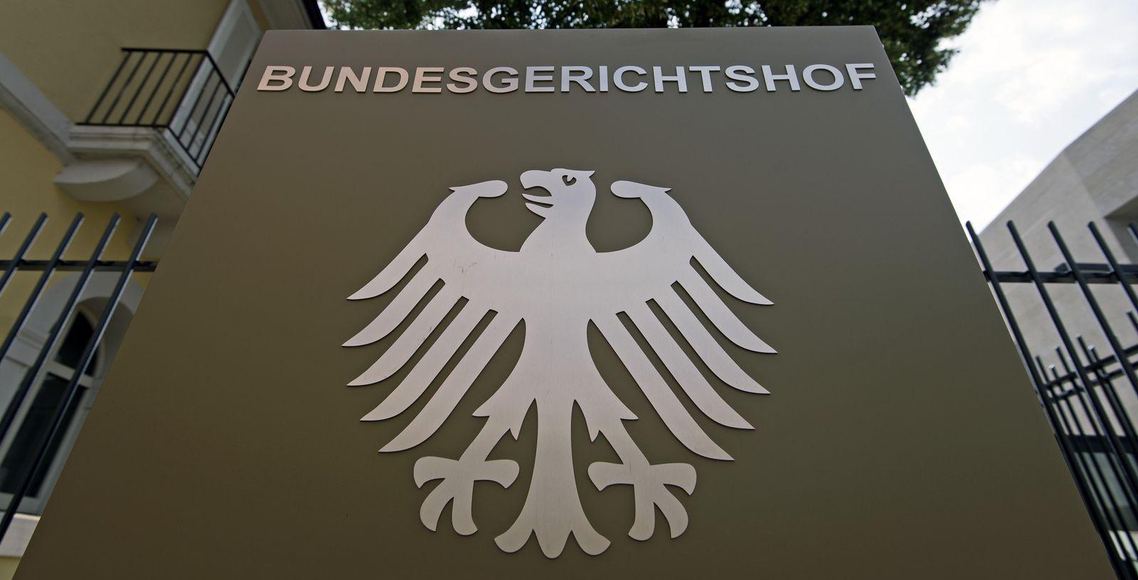NICHT VERWENDEN Bundesgerichtshof / Karlsruhe