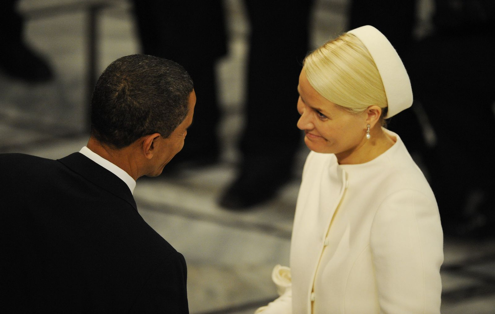 Obama / mette-Marit