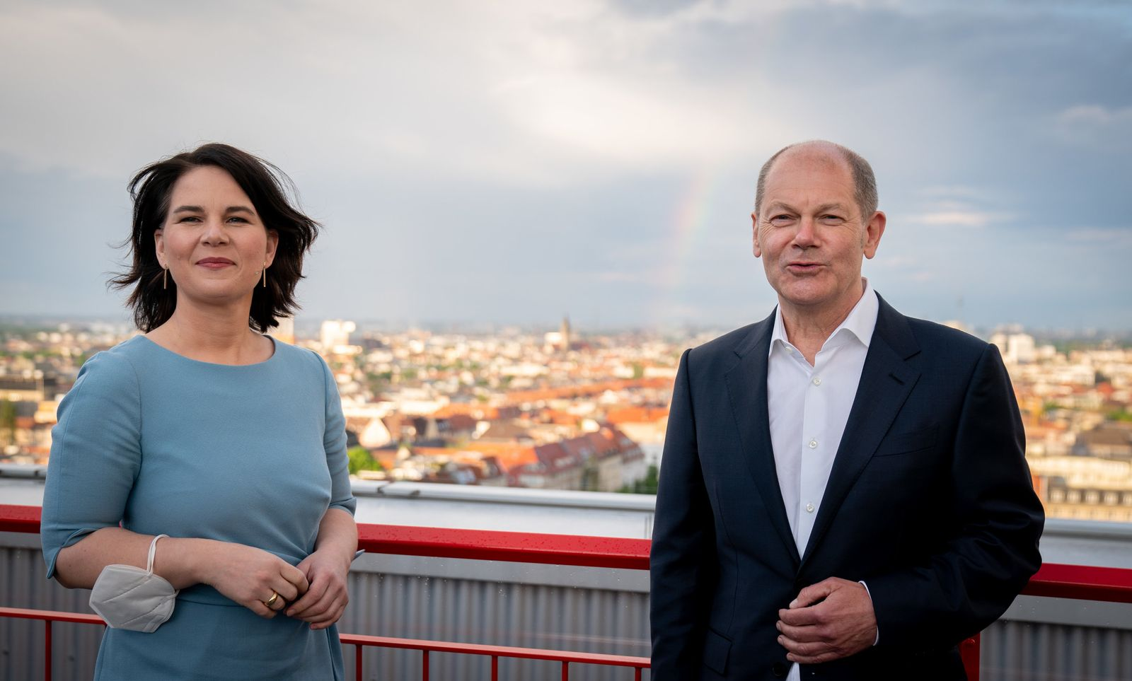 Annalena Baerbock und Olaf Scholz