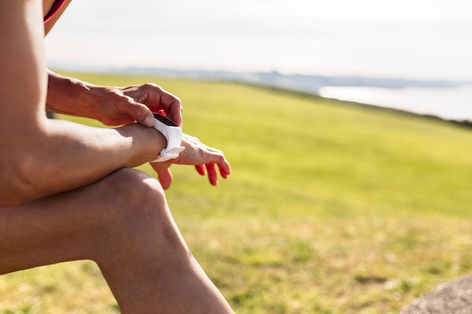 EINMALIGE VERWENDUNG Fitness-Armband