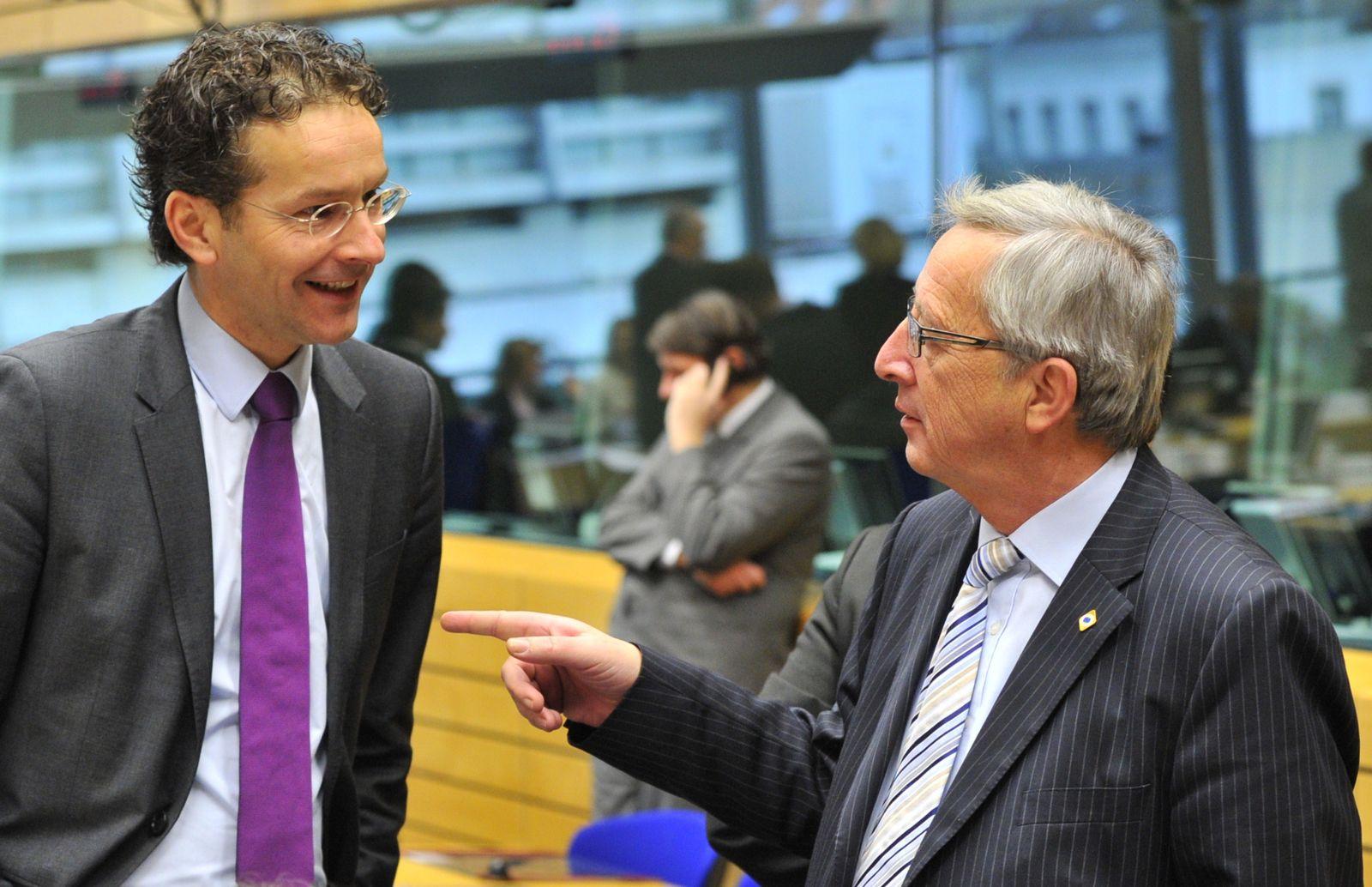 Jeroen Dijsselbloem / Jean-Claude Juncker