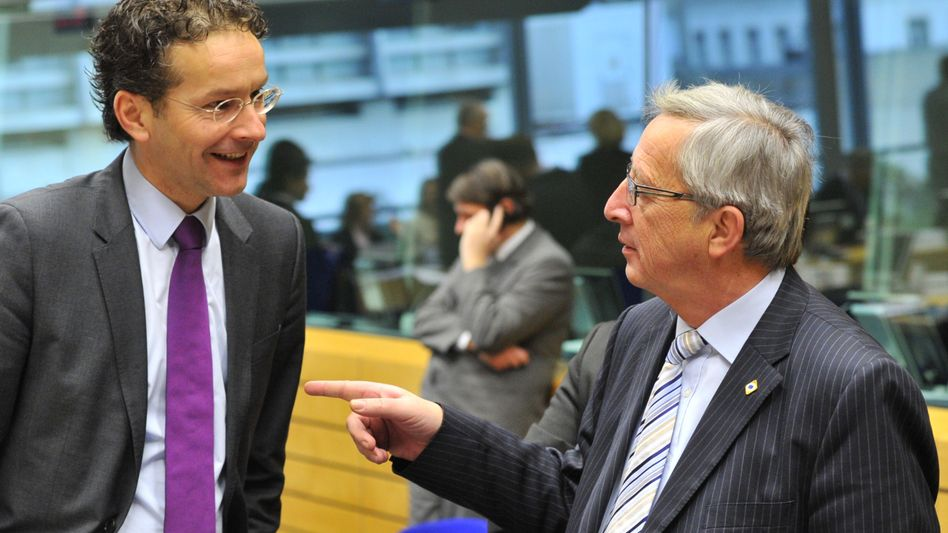 "Dijsselbloem und Juncker (Archivbild 2012): ""Luxemburg ist ein Rechtsstaat"""