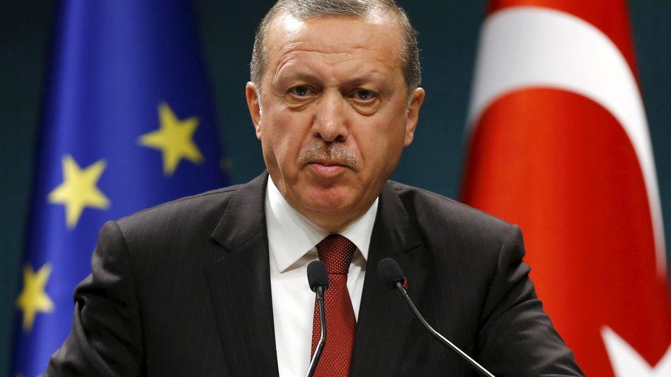 Recep Tayyip Erdogan: Bloß keine Kritik äußern!