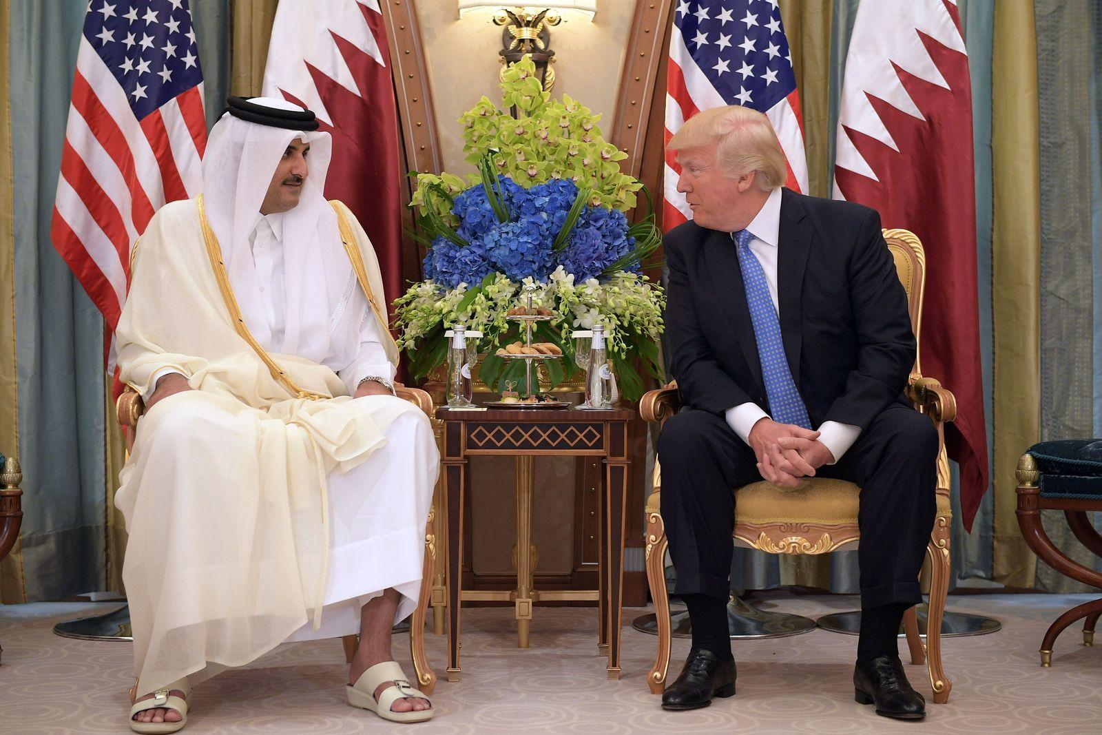 Trump/ Al-Thani