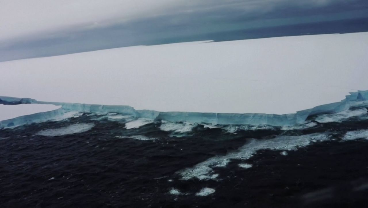 Tierparadies im Südpolarmeer bedroht: Eisberge im Anmarsch - DER SPIEGEL