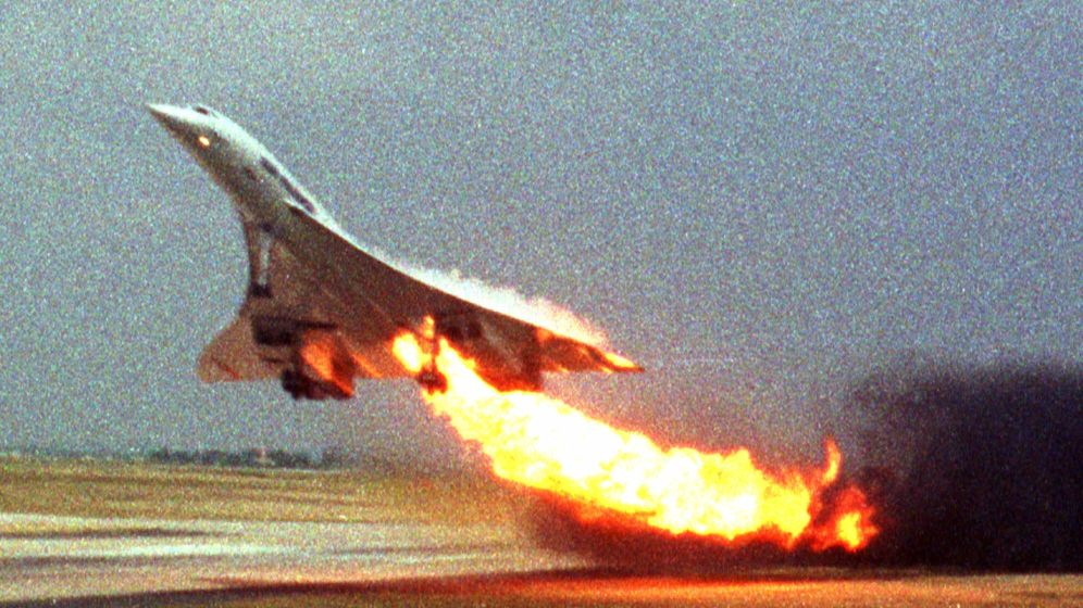 Der verhängnisvolle Start der Concorde am 25. Juli 2000 in Paris