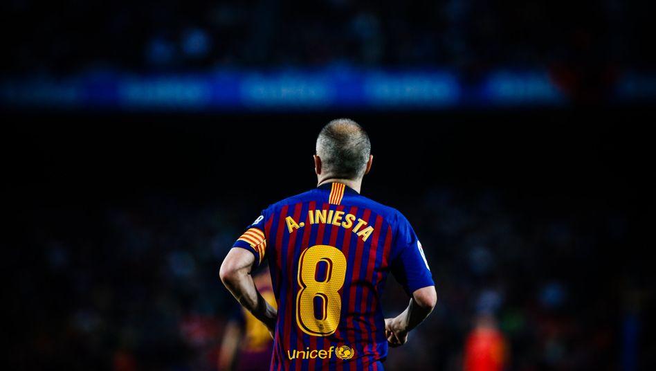 Andrés Iniesta ist in Spanien eine Legende - was nicht zwangsläufig ein Glücksversprechen ist