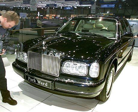 Königliches Gefährt: Rolls-Royce Silver Seraph