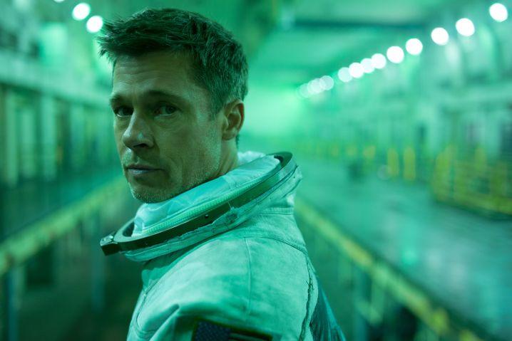 """Brad Pitt in """"Ad Astra"""": scheinbar ein Held"""