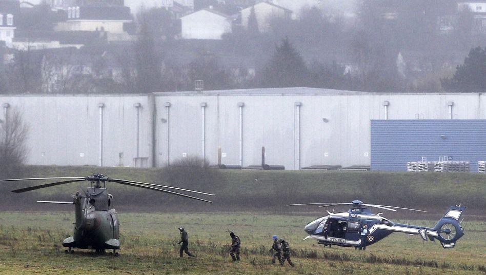 """Fahndung nach """"Charlie Hebdo""""-Attentätern: Ein Dorf im Belagerungszustand"""