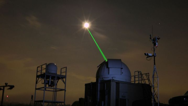 Lasermessungen: Bis zum Mond und zurück