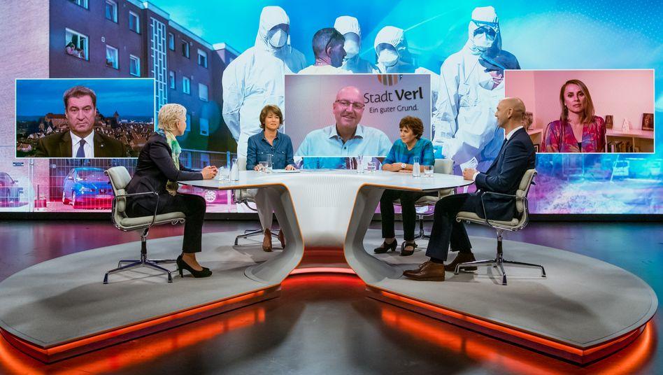 """Maybrit Illner mit Gästen: Das Problem ist die """"Kultur des Wegsehens"""""""