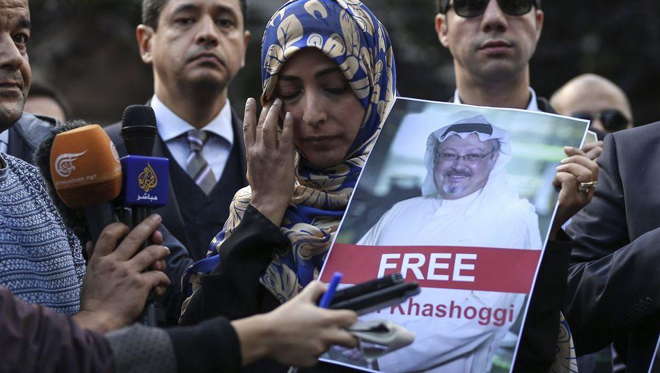 Nobelpreisträgerin Tawakkol Karman fordert Jamal Khashoggis Freilassung