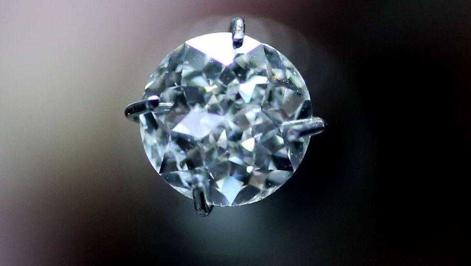Diamant in Antwerpen: Auch China treibt das Geschäft an
