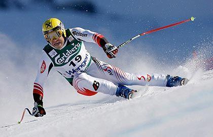 Skiprofi Hermann Maier: Unter Profisportlern ist der Helm längst Pflicht, für Gelegenheitsfahrer nicht.