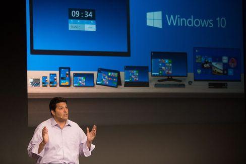 Eins für alle: Microsoft-Manager Terry Myerson erklärt, wie Windows 10 auf unterschiedlichen Geräten funktioniert