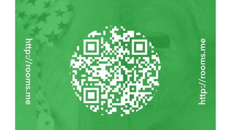 Facebok-App Rooms: Einladung per QR-Code