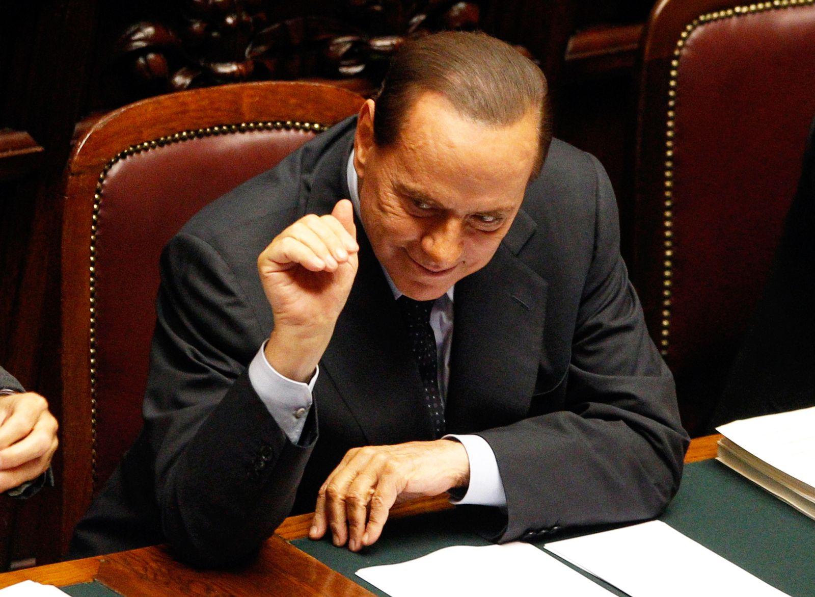 Silvio Berlusconi/ XXL aufgehellt