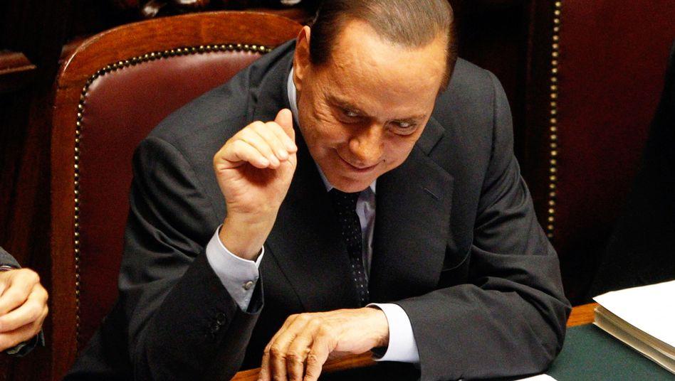 The European Union has little influence over Italian Prime Minister Silvio Berlusconi's crisis management.
