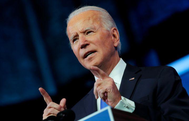 Bald-Präsident Joe Biden