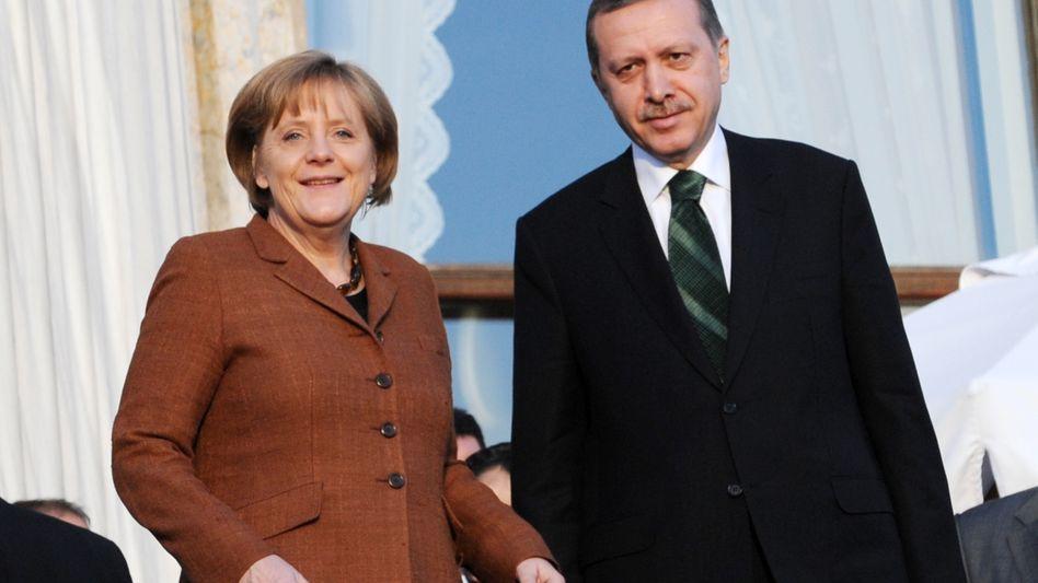 """Merkel und Erdogan in Istanbul: """"Wir würden viel von Deutschland erwarten"""""""