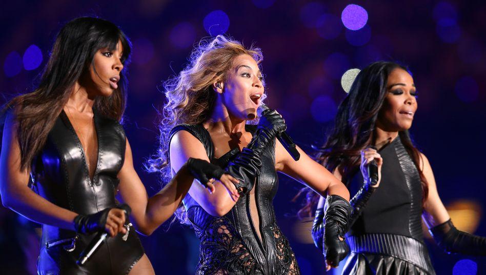 Destiny's-Child-StarsKelly Rowland, Beyonce Knowles und Michelle Williams 2013
