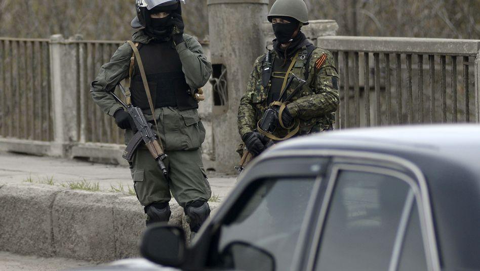 """Kampf gegen Separatisten: Ukraine startet """"Anti-Terror-Einsatz"""" in Slawjansk"""