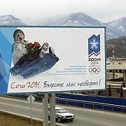 """Sotschi-Werbeplakat: """"Es wird noch viele Diskussionen geben"""""""