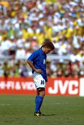 Italienischer Unglücksrabe Baggio: Brasilien zum Weltmeister geschossen