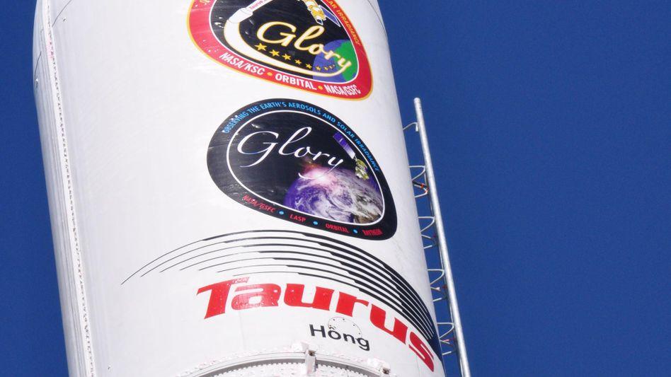 """""""Taurus XL""""-Rakete: Der Satelliten-Transport in den Erdorbit ist missglückt"""