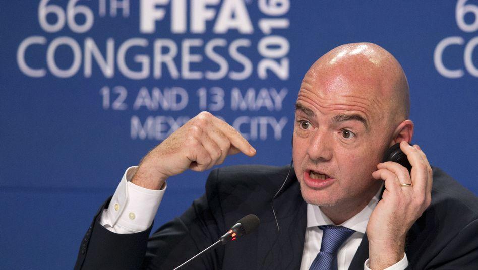 Fifa-Präsident Gianni Infanitno