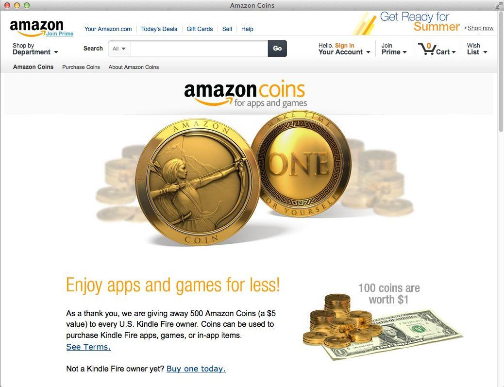 NUR ALS ZITAT Screenshot Amazon Coins