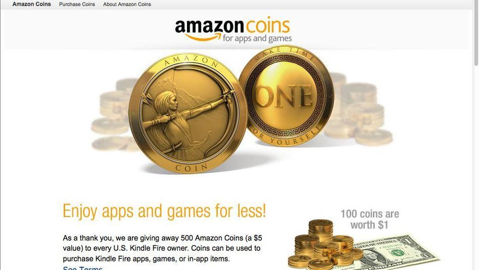 Amazon Coins: Virtuelles Kleingeld fürs Onlineshopping