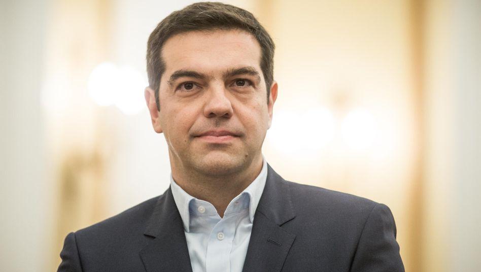 Premierminister Tsipras: Sucht Nähe zu Russland