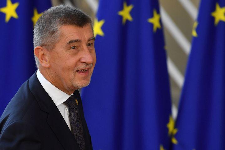 Tschechischer Staatschef Andrej Babis