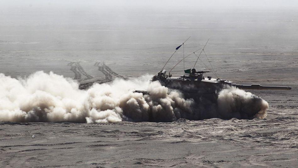 """Chilenischer """"Leopard 2""""-Panzer (Symbolbild)"""