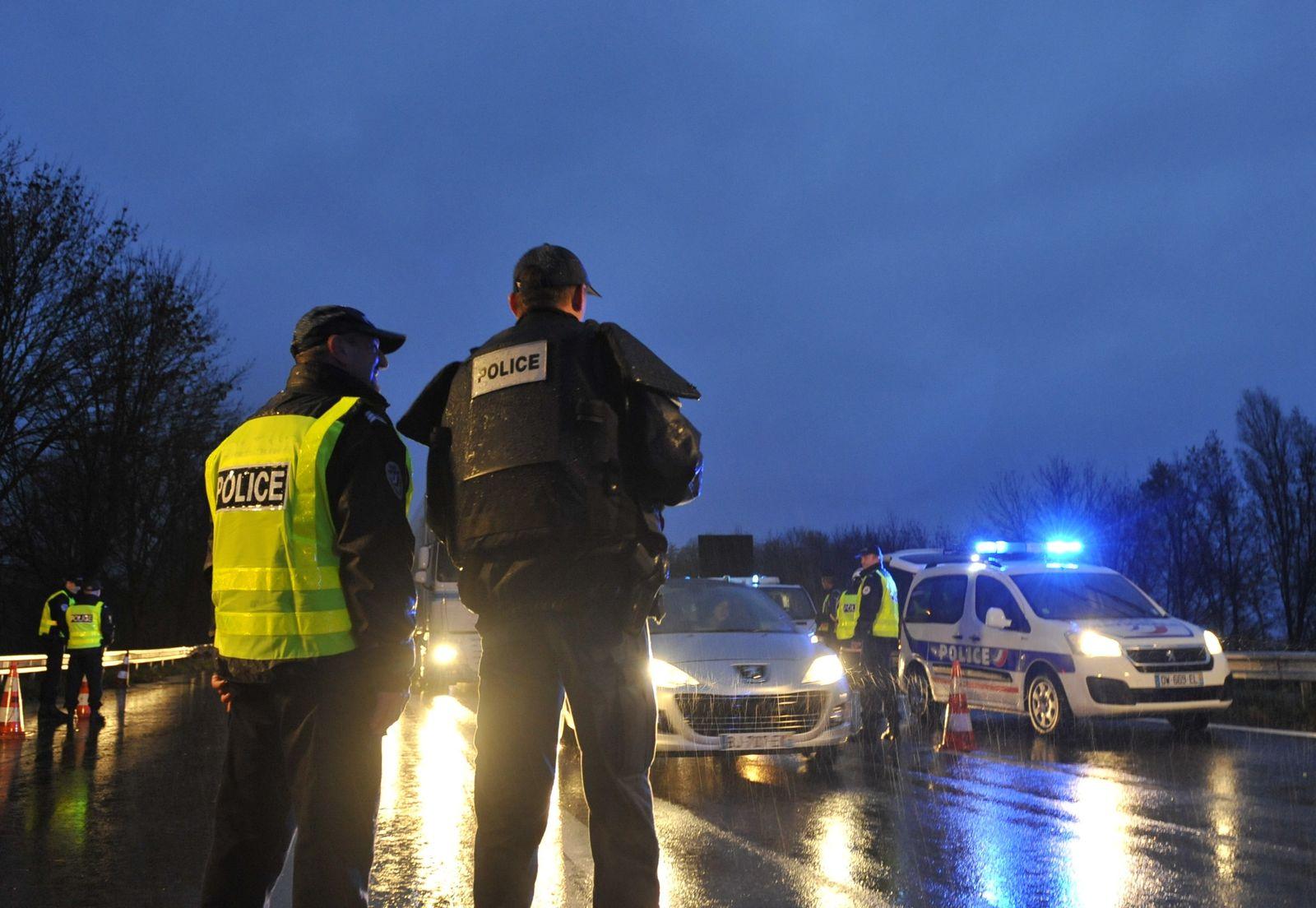 Kontrollen Polizei Autobahn