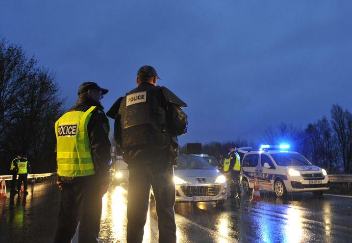 Polizeikontrollen nach den Anschlägen von Paris