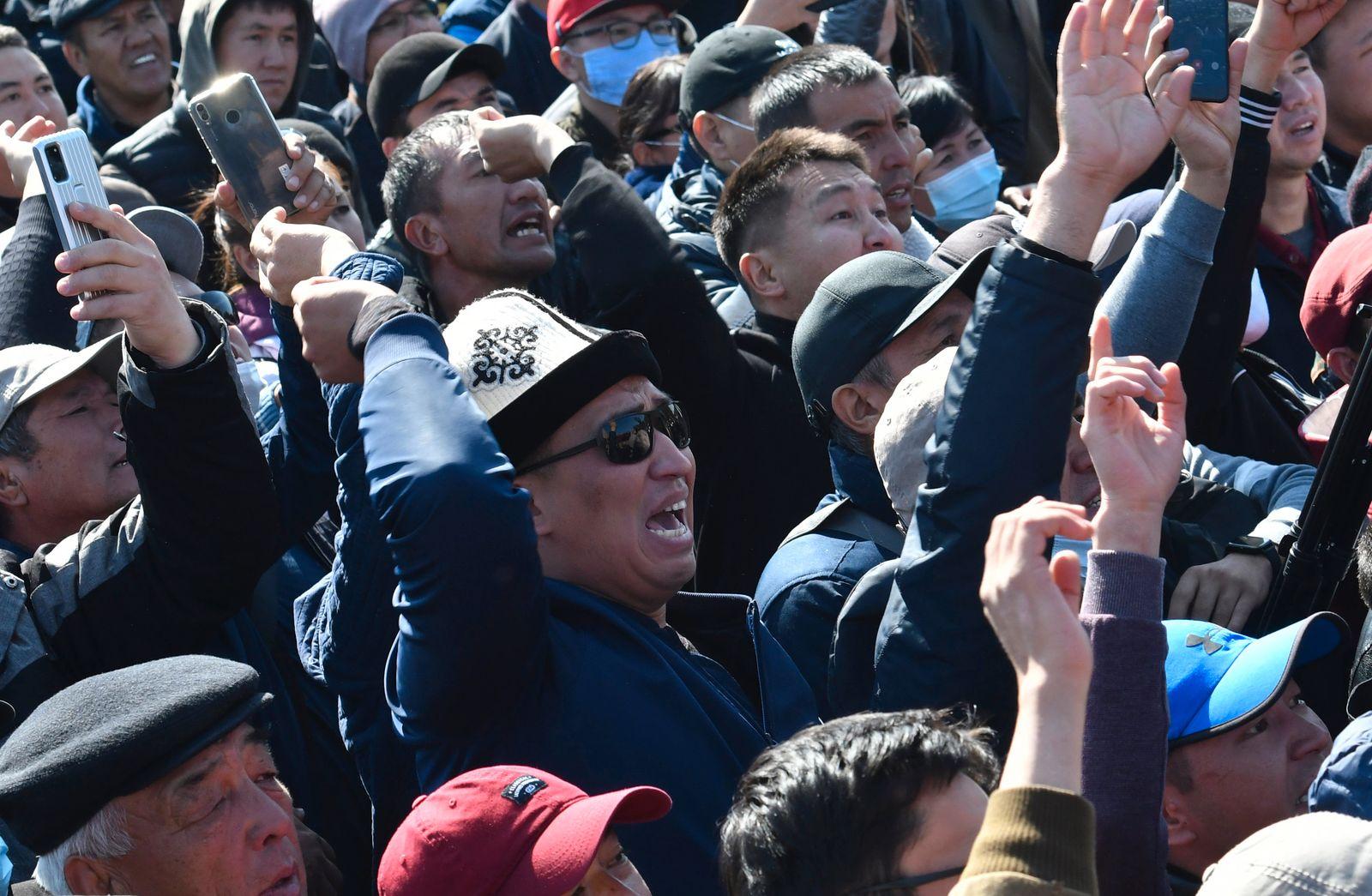 Proteste in Kirgistan