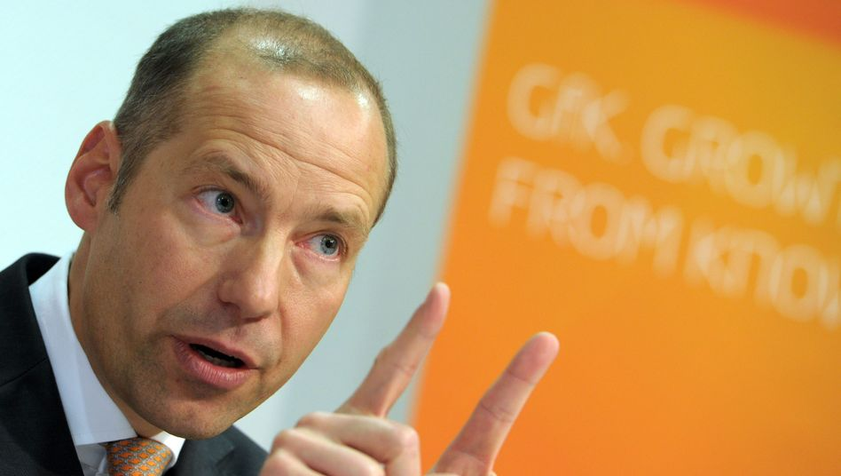 Zurückgetreten: GfK-Chef Matthias Hartmann