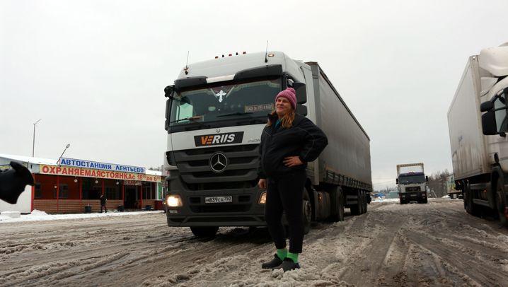 Truckerinnen in Russland: Auf Achse