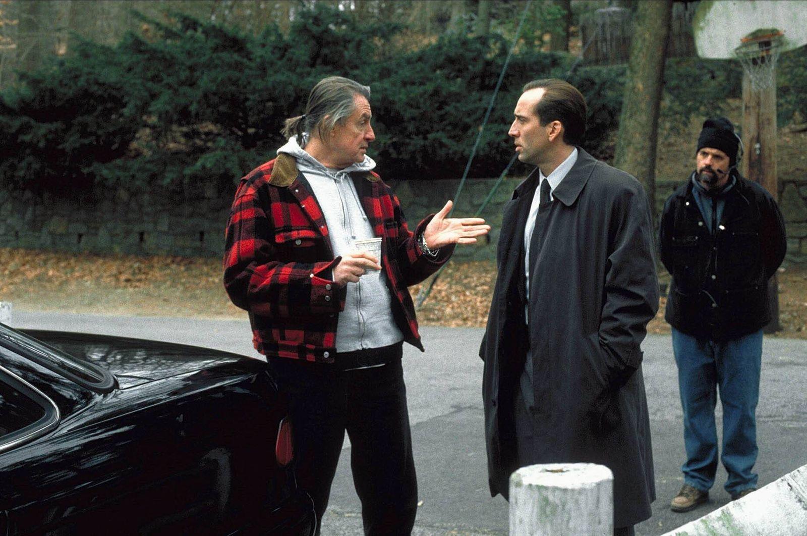 Joel Schumacher & Nicolas Cage Characters: & Tom Welles Film: 8mm (USA/DE 1999) Director: Joel Schumacher 19 February 19