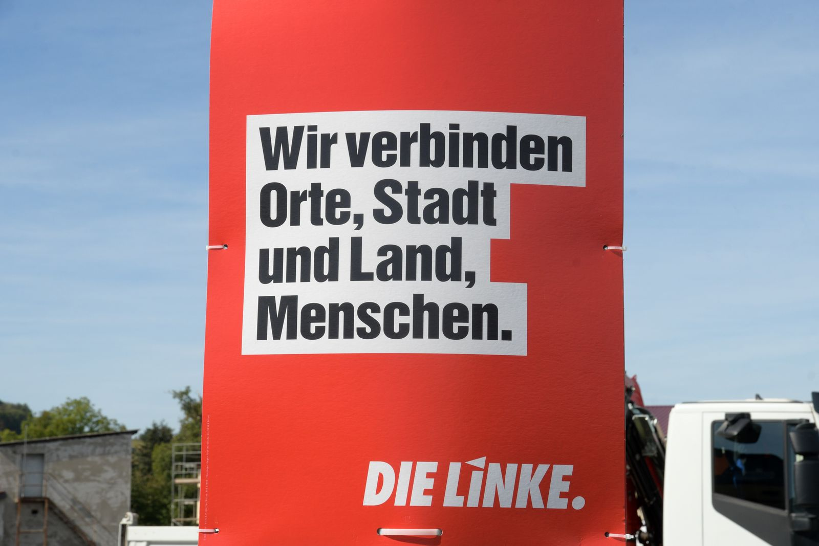 EINMALIGE VERWENDUNG Linke Thüringen