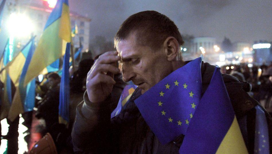 """Proteste in der Ukraine: """"Kein souveräner Staat mehr"""""""