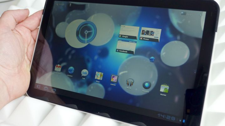 Honeycomb-Tablets: Motorola Xoom