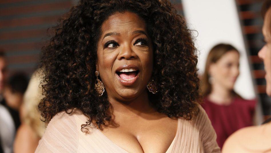 """Oprah Winfrey bei einer Party im Februar in Beverly Hills: """"Lebensstiländerung"""""""