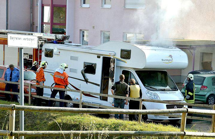 Wohnmobil in Eisenach: Tatort des Suizids von Mundlos und Böhnhardt