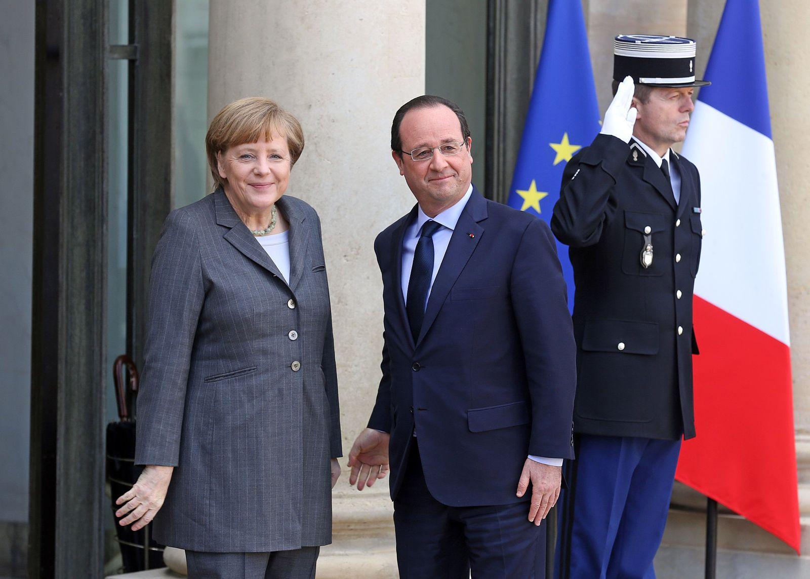 Merkel / Hollande / Paris /