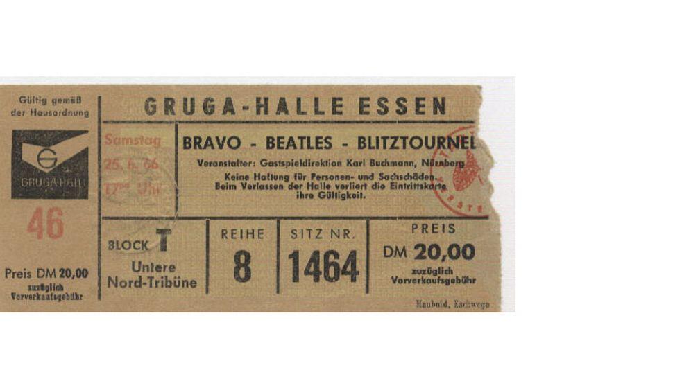"""Beatles in Deutschland: """"Extase bis zur Bewusstlosigkeit"""""""