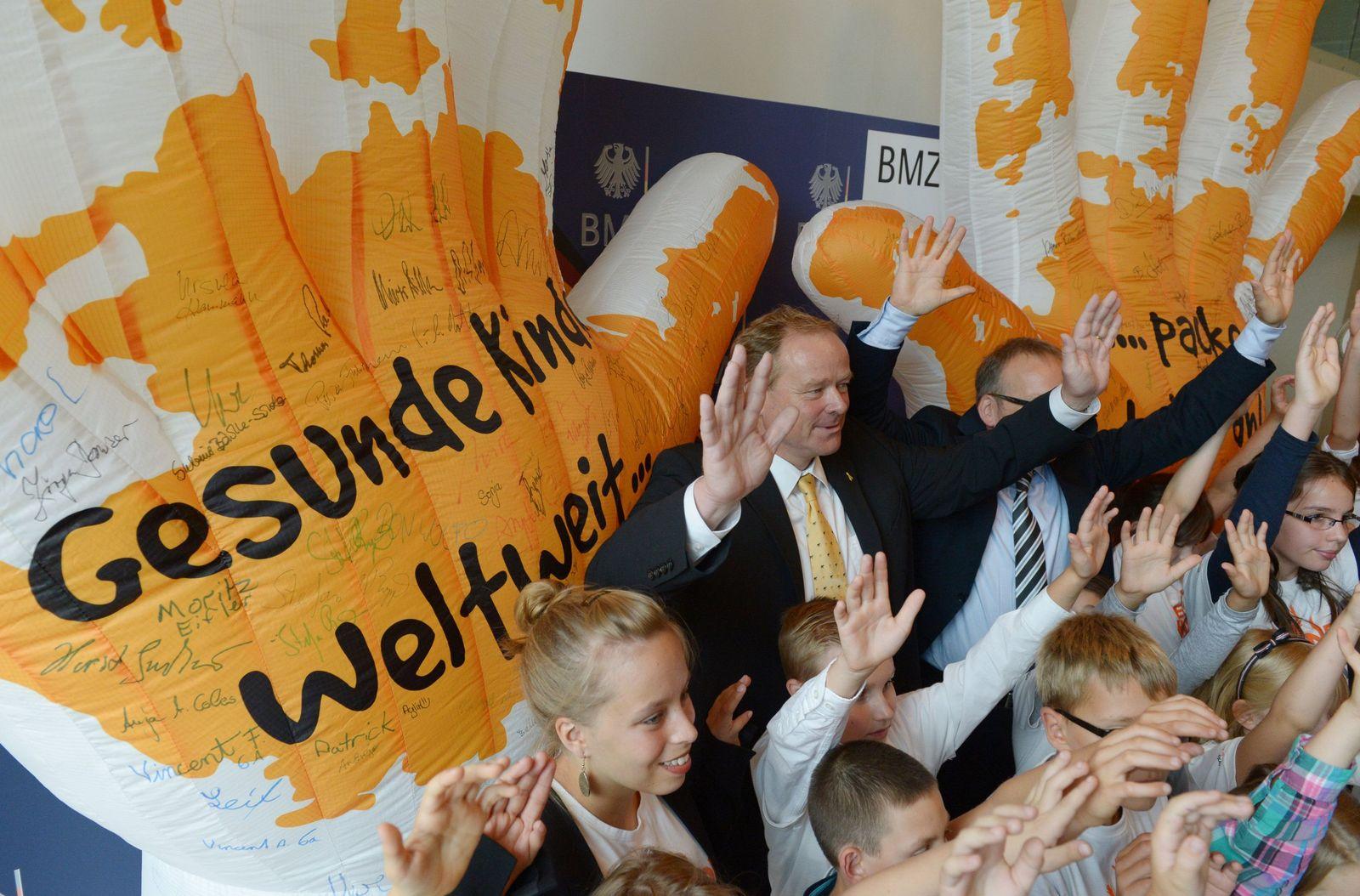"""Aktion """"Gesunde Kinder Weltweit"""""""